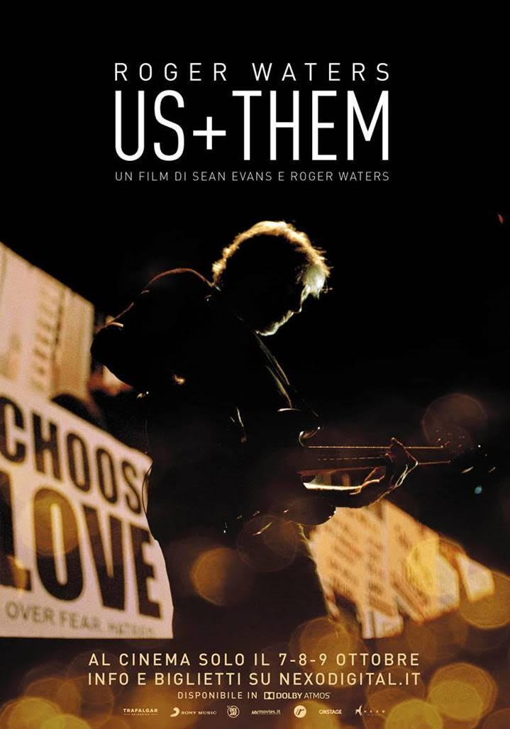 ROGER WATERS. US + THEM IL FILM CONCERTO